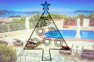 christmas tree skiathos blue horizon studios